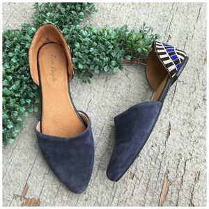Free People Beaded Rajah D'Orsay Flats